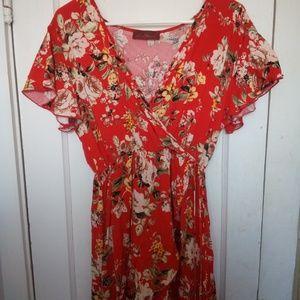 Dresses & Skirts - Floral dress sz m